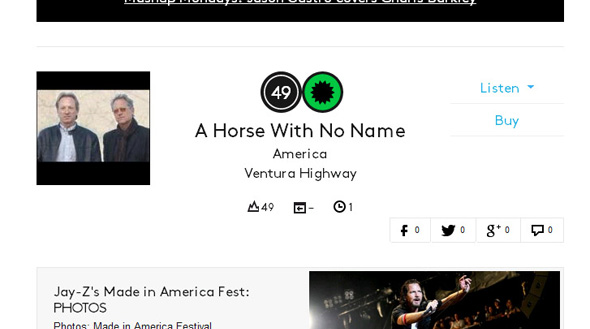 America on the Billboard Charts 2013